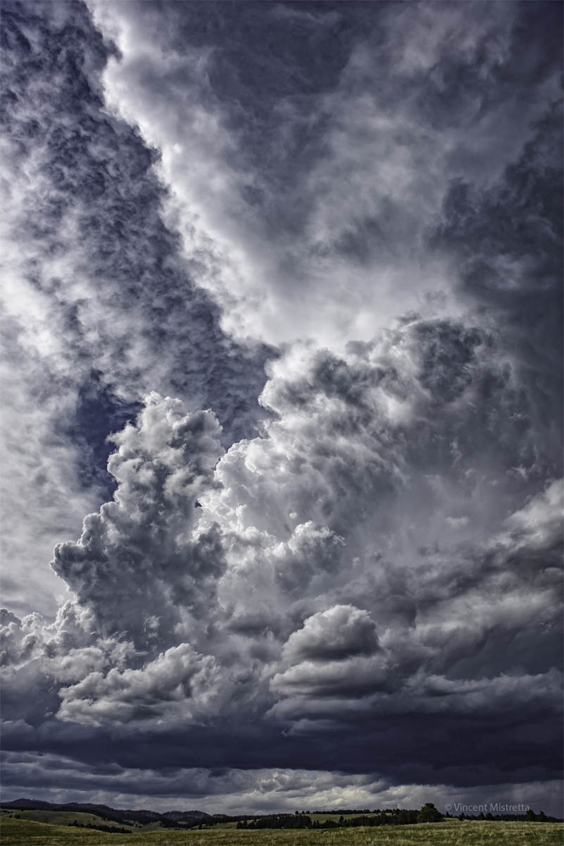 North America, United States, South Dakota, Custer, Custer State Park, Storm Clouds, Photography